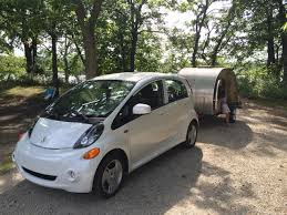 the joy of towing camping and evs