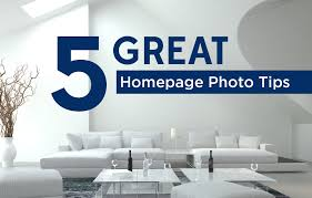 5 great homepage photo tips to engage real estate website visitors