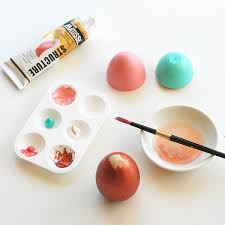painted wooden easter eggs how to paint wooden easter eggs my poppet makes