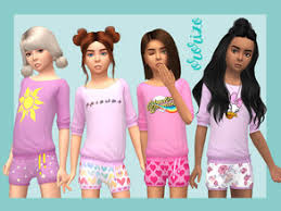 childs hairstyles sims 4 sims 4 downloads child hair