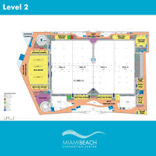 floor planners floor plans miami convention center