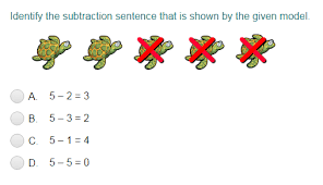 subtraction quizzes turtle diary