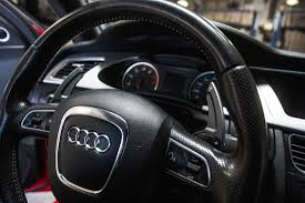 audi all models agency power paddle shifter extensions shadow gray audi all models
