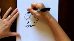 28 easy house drawing simple drawing of house how to draw a mouse cartoon easy drawing lesson for kids youtube