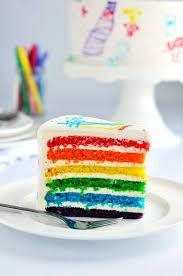Rainbow Doodle Birthday Cake Sweetapolita
