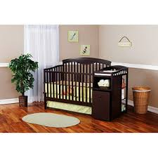 Baby Cribs 4 In 1 With Changing Table Best Crib And Changer Combo Convertible 3 In 1 Detachable