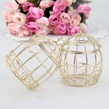 wedding favor containers wedding favor box european creative gold matel boxes