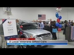 new cars kansas city 2 kansas city veterans awarded new cars