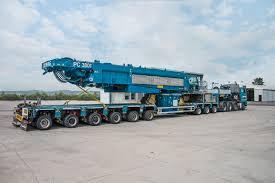 Pedestal Crane Demag Pc 3800 1 Pedestal Crane Reduces Ground Preparation Crane