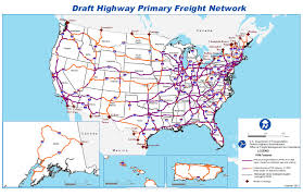 Primary Map Dot Proposes Highways For Freight Network