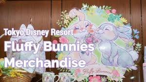 fluffy bunnies merchandise tokyo disney resort