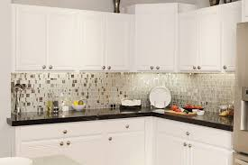 backsplash with white kitchen cabinets granite countertop grey kitchen cupboards how to install mosaic