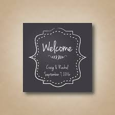 wedding hotel gift bags wedding welcome bag stickers chalkboard welcome stickers square