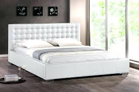 White Leather Bed Frame King Bed Frame White White King Size Bed Frame Trend On With