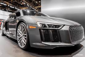 Audi R8 Grey - photo gallery 2016 chicago auto show audi r8 v10 plus