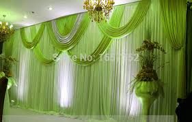 wedding backdrop online green 10ft 20ft wedding backdrop stage backdrop with detachable