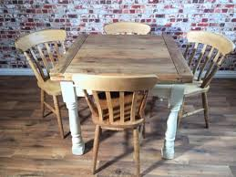farmhouse kitchen table chairs extending rustic farmhouse dining table set drop leaf painted in