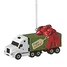semi truck ornament home kitchen