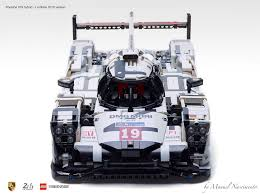 porsche lego set amazing fan built lego technic porsche 919 the 2015 le mans