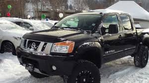 nissan titan warrior cost 2013 nissan titan pro 4x lifted youtube