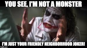 Dark Knight Joker Meme - who wants to kill you imgflip