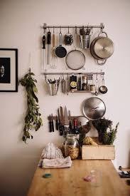 kitchen wall storage ideas ikea grundtal pot rack and magnetic knife block 58 cool kitchen