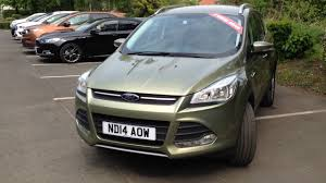 used ford kuga 2 0 tdci 140ps green 2014 youtube