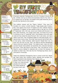 thanksgiving i worksheet free esl printable worksheets made by