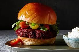 Recipe Weeknight Beet Burgers WSJ