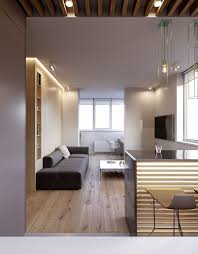 3 modern minimalist apartments for young families living room