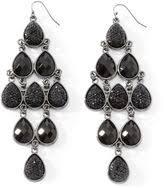 White Chandelier Earrings Beaded Chandelier Earrings Shopstyle
