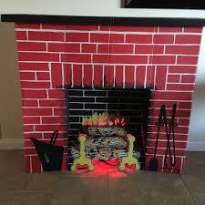 nostalgia home decor home decor new cardboard christmas fireplace design ideas modern