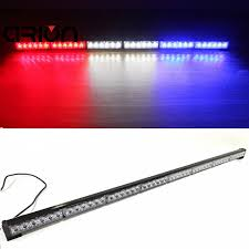 red and white led emergency lights crion 36 led 108w emergency vehicle strobe lights windshields flash
