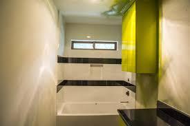 minimalist modern bathroom remodel in austin tx the revolutionary