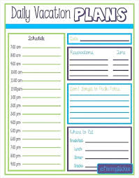 travel planners images Free printable vacation itinerary travel planner journal inserts jpg