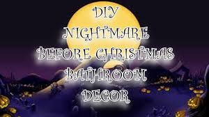 diy disney u0027s nightmare before christmas bathroom decor jack