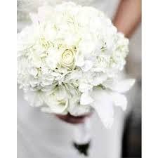 white hydrangea bouquet weddingchannel galleries white hydrangea and bouquet polyvore