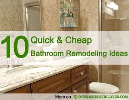 cheap bathrooms ideas best 25 budget bathroom remodel ideas on budget
