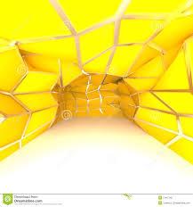 yellow room empty room yellow diagonal wall stock illustration illustration of