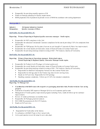 Resume For Packaging Job by Resume