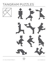 tangram puzzles tangrams