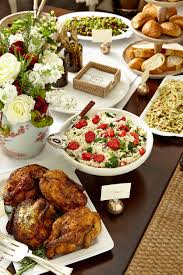 Dining Table With Food How To Set Up A Buffet On A Dining Table Or Sideboard Dining