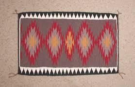 native american navajo hand woven rug teec nos pos general pattern