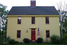 Build Small Saltbox House Plans by The Saltbox Colonial Exterior Trim And Siding The