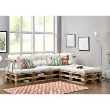 coussin pour canape 3x coussin de siège 5x coussin de dossier pour canapé palette