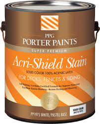 exterior stains from ppg porter paints