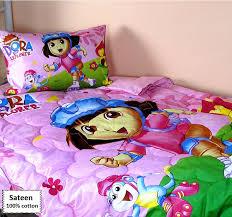 Dora Comforter Set Dora The Explorer Bedding Sets Online 3 Pcs Beddingeu