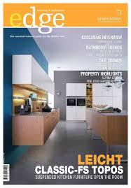 Kitchen Room Villeroy And Boch Calaméo Edge Kitchens U0026 Bathrooms Magazine Levant Issue 15