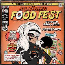trick or treat this halloween for street food ktown los angeles