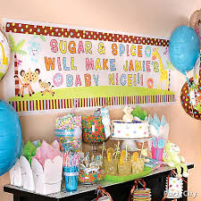 baby shower banner ideas personalized baby shower banner idea party city